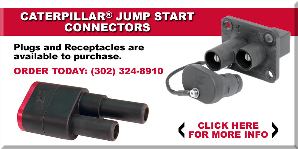 Caterpillar Jump Start Connectors - Plugs and Receptacles